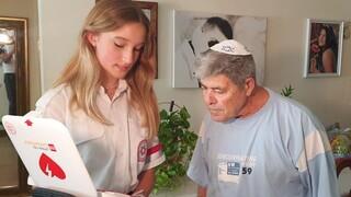 המתנדבת והגבר שהצילה