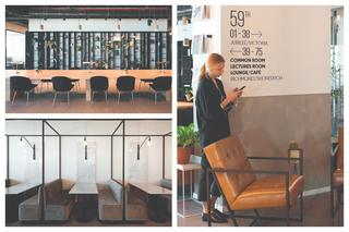 מתחם עבודה: LABS שרונה, תל אביב. עיצוב: יערה גודר. צילום: שי אזולאי.