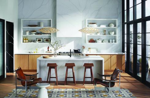 העושר שבמינימליזם. משטחי סיילסון למטבח מדגם  Eternal Calacatta. קוסנטינו