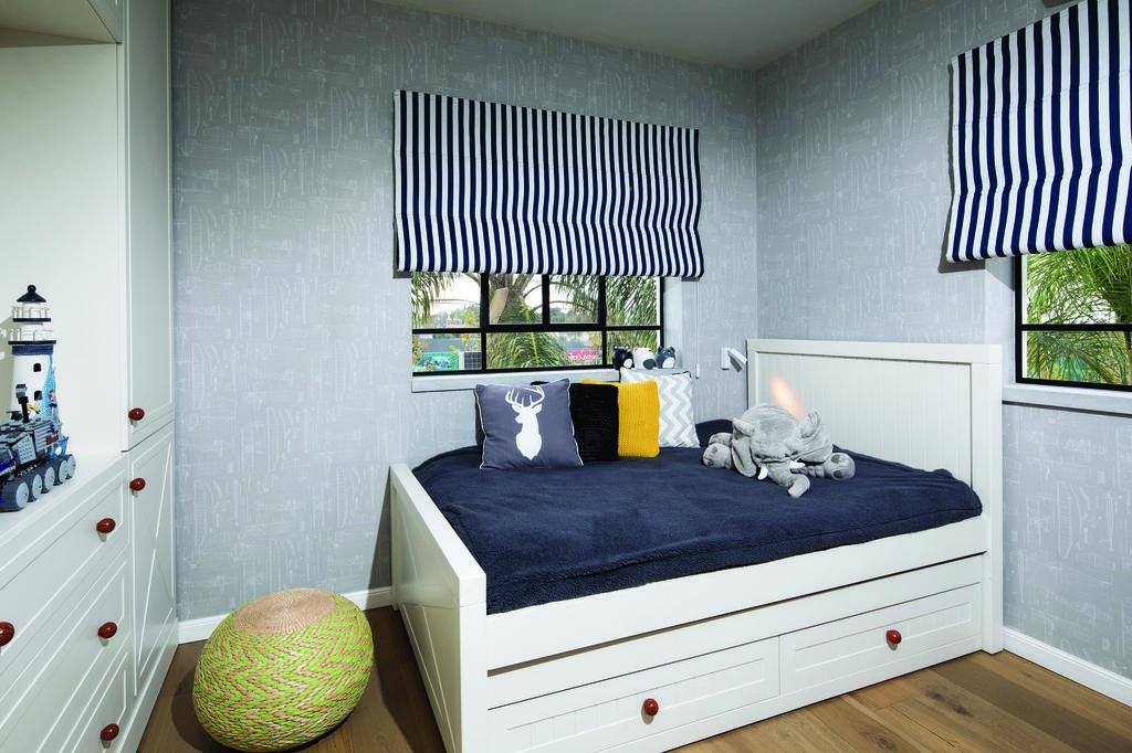 חדר ילדים ונוער בעיצוב קרן מימון, צילום: ערן תורג'מן