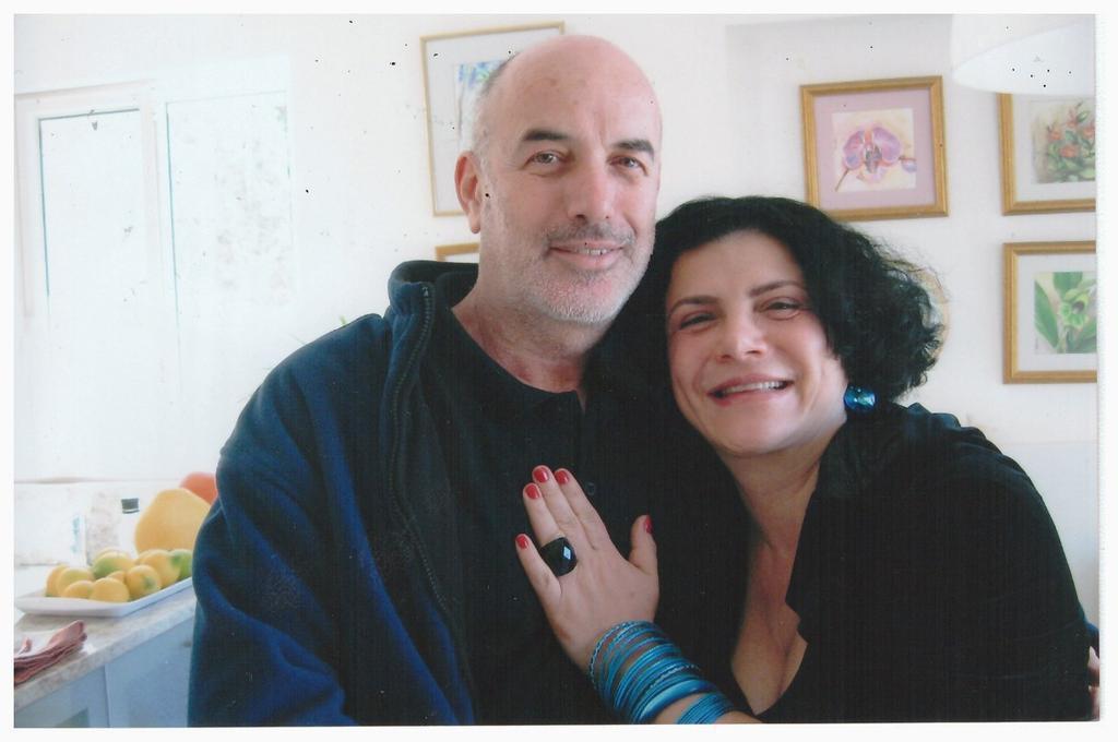 ברברה ברזין ואורן קינן. צילום: פרטי