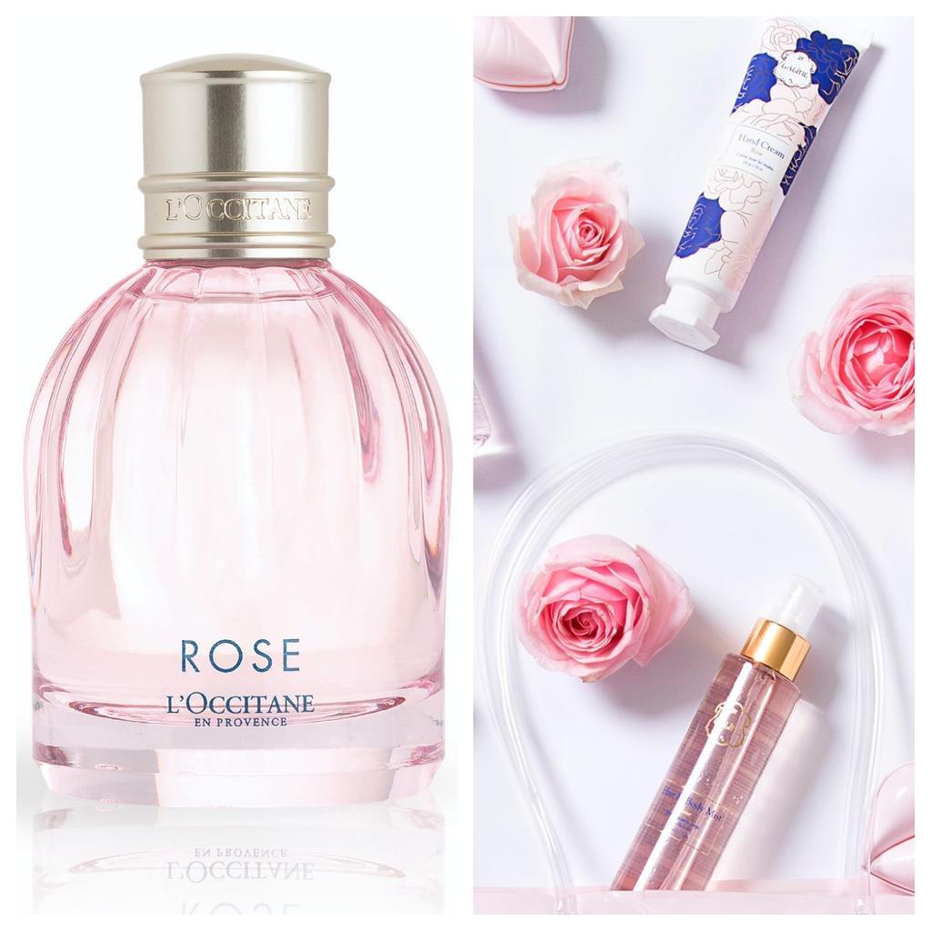 """סדרת Rose של ללין, צילום: תמוז רחמן. לאוקסיטן או דה טואלט מסדרת Rose, מחיר: 179 שקלים, יח""""צ."""