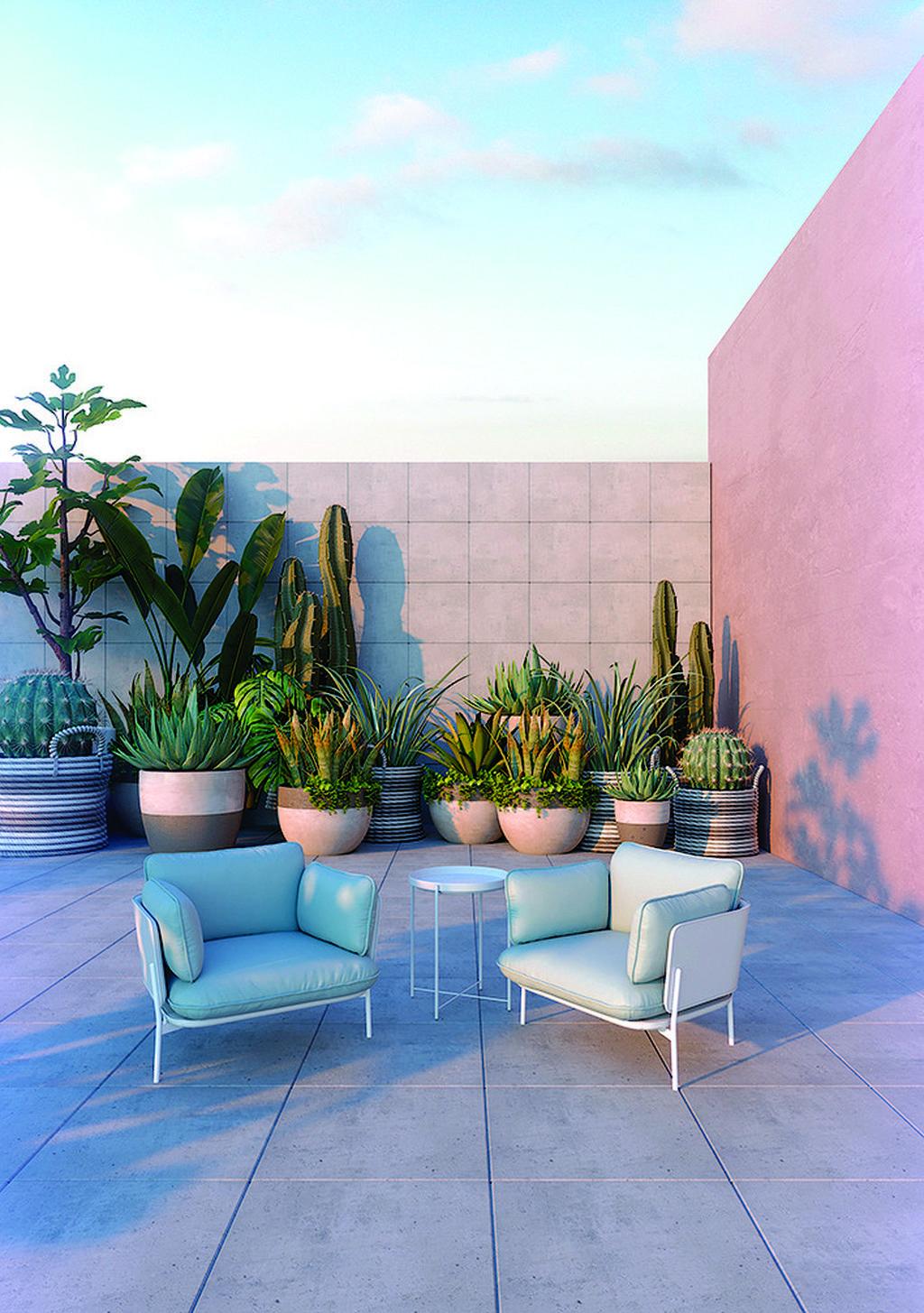 """אריחי בטון מעוצבים מסדרת VERSAILLES, רשת אלוני. צילום: יח""""צ חו""""ל"""