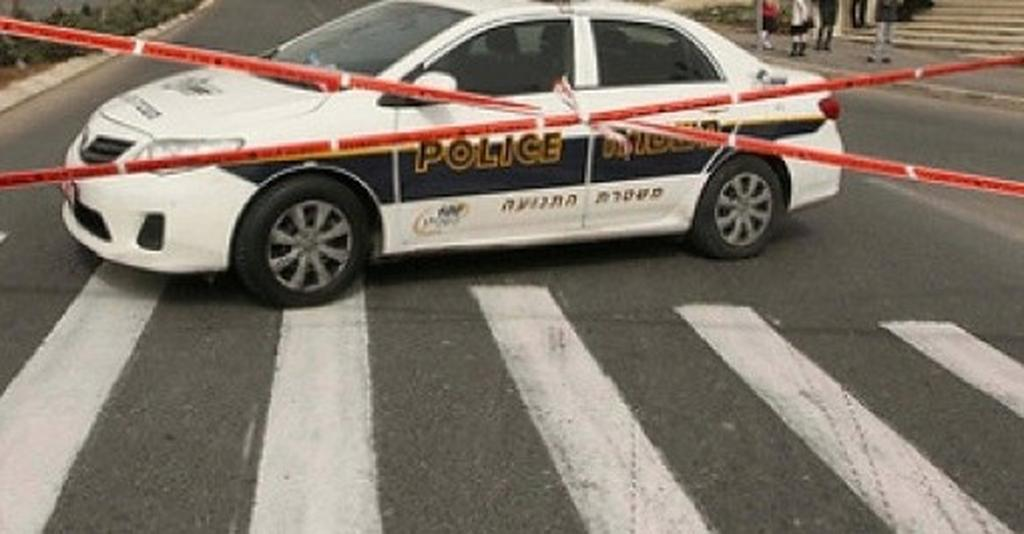 ניידת משטרה, חסימות כבישים. צילום: עידו ארז