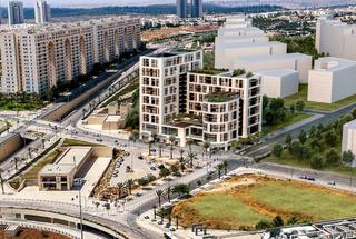 תצלום אוויר -הדמיית בית הדיור ברשת עד 120 בעיר מודיעין | באדיבות 'עד 120'