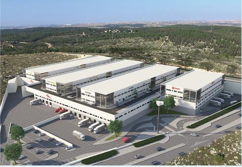 מרכז הסחר המקוון | הדמייה באדיבות דואר ישראל