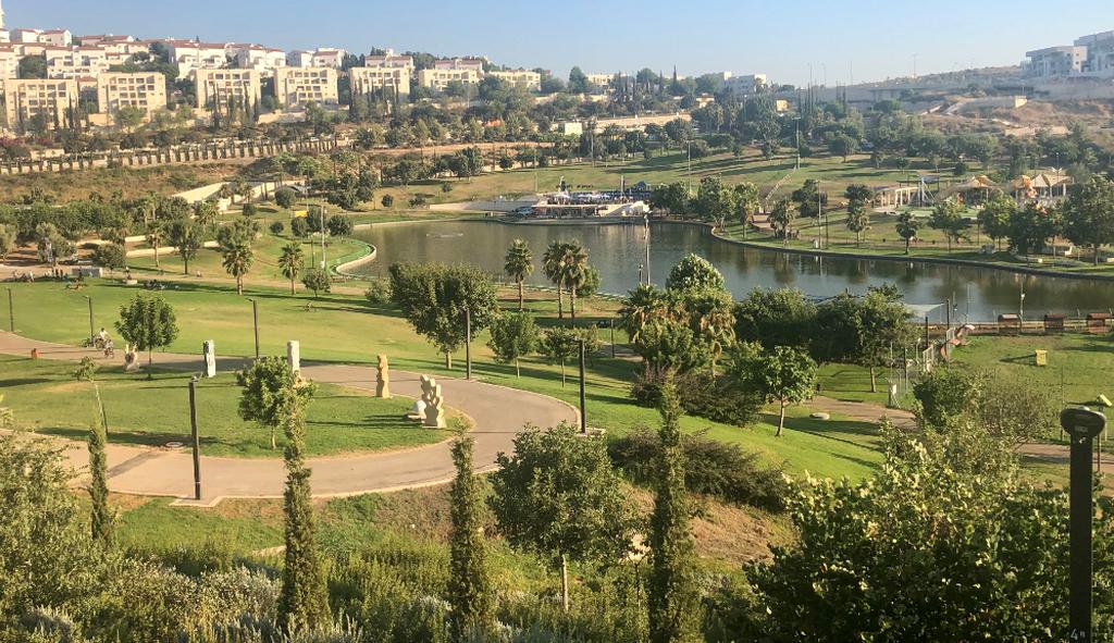 פארק ענבה. צילום: דוברות עיריית מודיעין