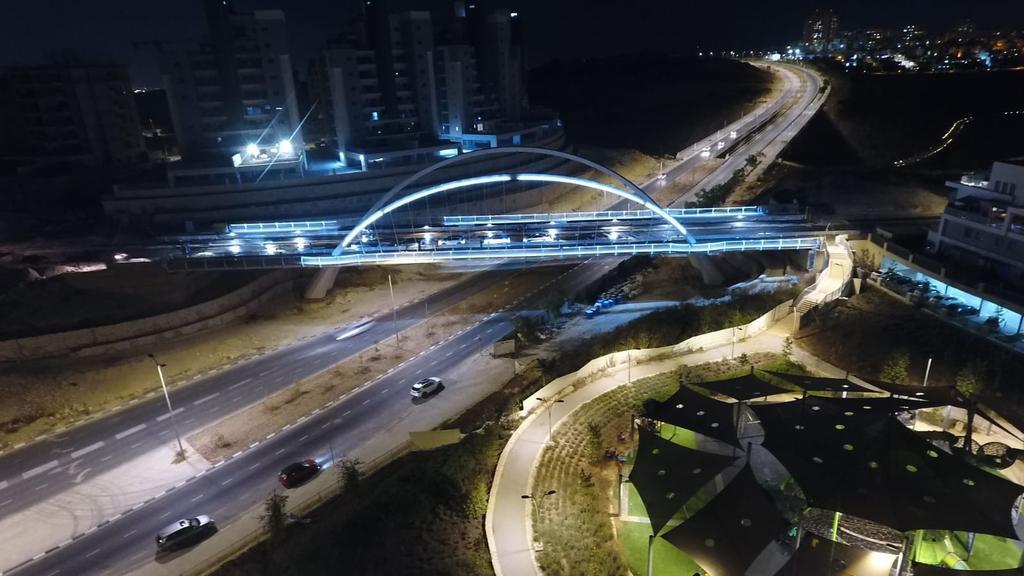 הגשר המחבר בין נופים לציפורים. צילום: באדיבות העירייה