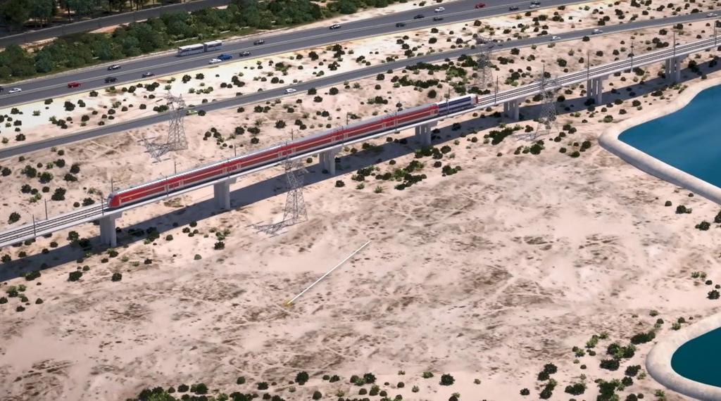 תחנת מעויין שורק   באדיבות אגף הביצוע של רכבת ישראל ו-New age media